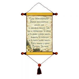 Casa binecuvântată - Decor Papirus A4