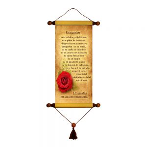 Dragostea - Papirus lung verset
