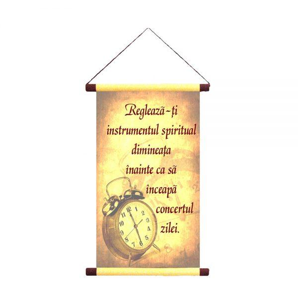 Reglează-ți instrumentul spiritual - Decor Papirus A5