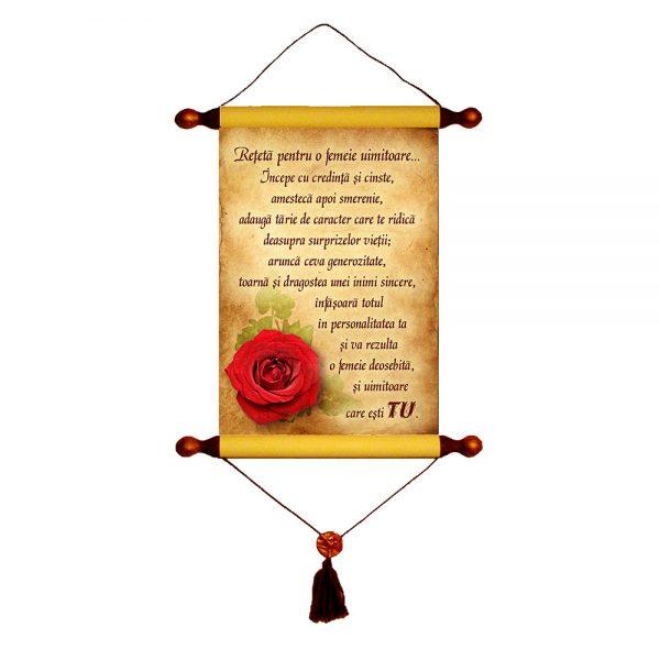 Reţetă pentru o femeie uimitoare- Papirus A4