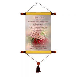 Rugă de căsătorie - Decor Papirus A4