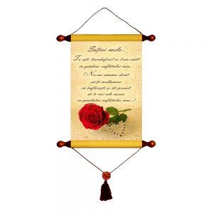Tu ești trandafirul - Papirus A4